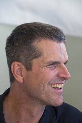 San Francisco Forty Niners Coach Jim Harbaugh Poster