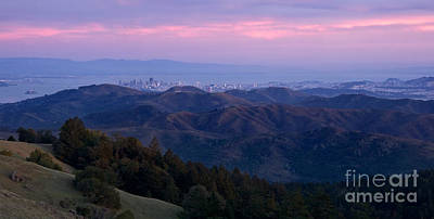 San Francisco From Mount Tam Poster