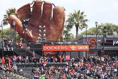San Francisco Giants Fan Lot Giant Glove 5d28142 Poster