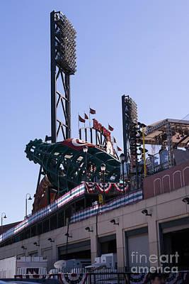 San Francisco Giants World Series Baseball At Att Park Dsc1885 Poster