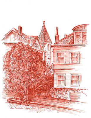 San Francisco Jackson Street Poster