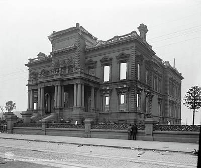 San Francisco Mansion Poster