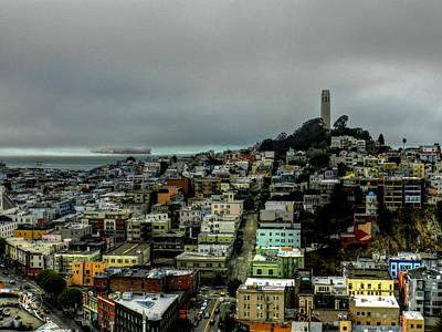 San Francisco - Telegraph Hill 002 Poster