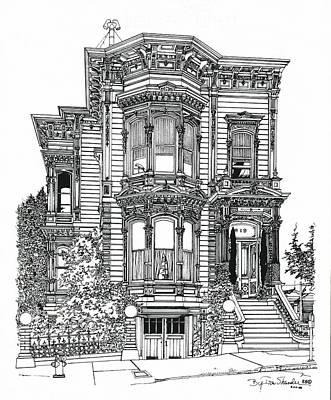 San Francisco Victorian   Poster