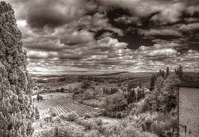 San Gimignano View Poster