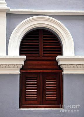 San Juan Architecture Poster by John Rizzuto