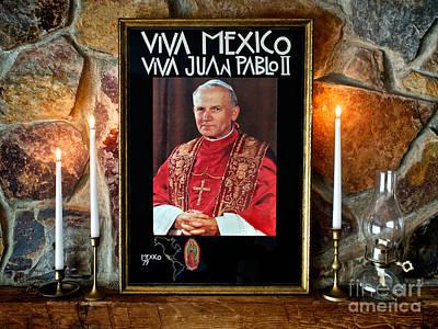 San Juan Pablo II Poster by Mark Miller