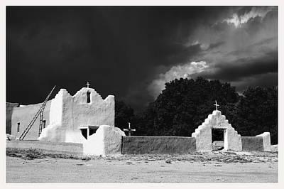 San Lorenzo Picuris Pueblo New Mexico Poster by Mark Goebel