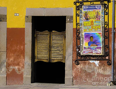 San Miguel Colorful Bar Poster