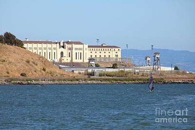 San Quentin Prison In Marin County California 5d29489 Poster by Wingsdomain Art and Photography
