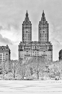San Remo Towers Nyc Poster by Susan Candelario