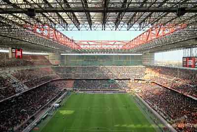 San Siro Stadium Poster by Valentino Visentini