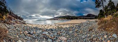 Sand Beach At Acadia Poster