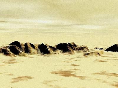Sand Desert Poster