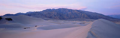 Sand Dunes At Sunrise, Death Valley Poster