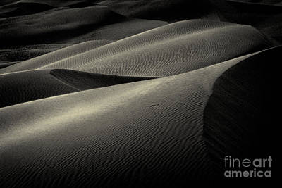 Sand Dunes At Sunset - 236 Poster by Paul W Faust -  Impressions of Light