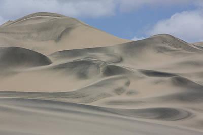 Sand Dunes Nazca Desert  Peru Poster by Cyril Ruoso