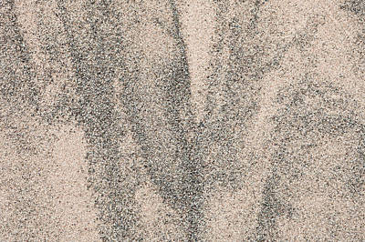 Sand Pattern Poster by Tom Gowanlock