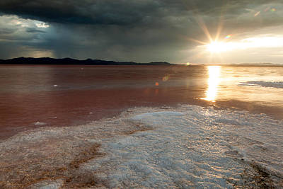Sand Salt And Sunshine Poster