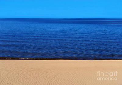 Sand Sea And Sky Poster