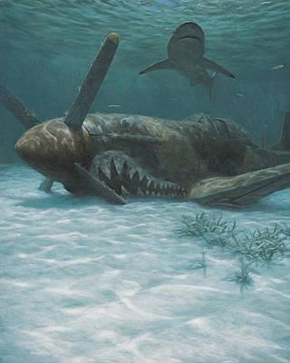 Sand Shark Poster