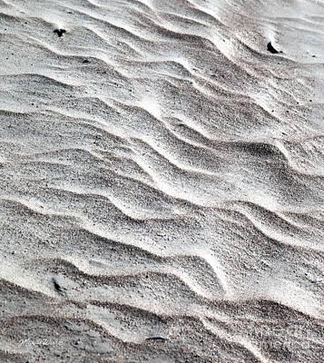 Sand Swirl Poster by Michelle Wiarda