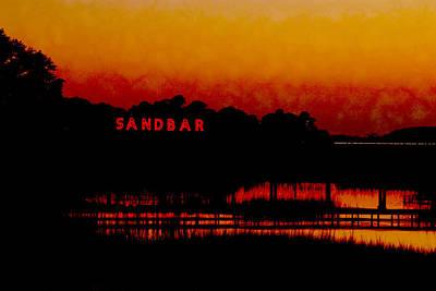 Sandbar Beach Bar Poster