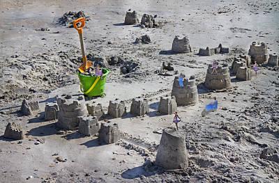Sandcastle Squatters Poster