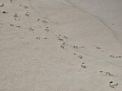 Sandprints Poster