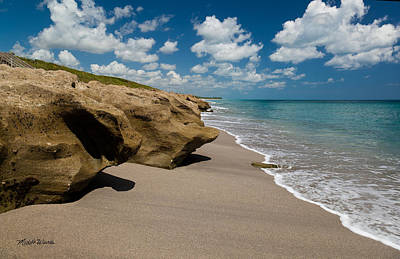 Sandstone Shoreline Poster
