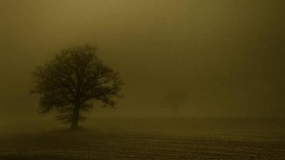 Sandstorm Poster by Chris Fletcher