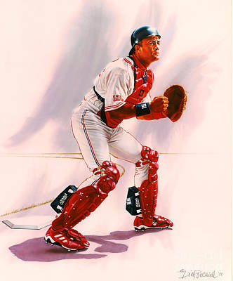 Sandy Alomar Poster by Dick Bobnick
