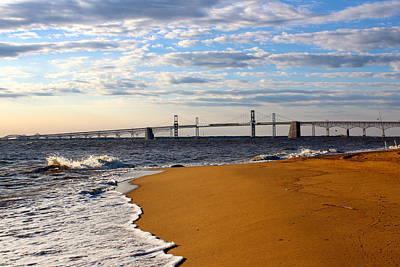 Sandy Bay Bridge Poster