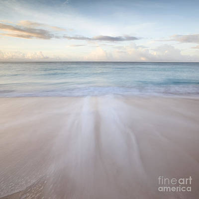 Sandy Beach At Sunrise - Barbados Poster by Matteo Colombo