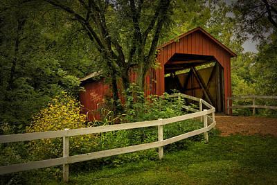 Sandy Creek Bridge Near Hillsboro Mo Dsc06888 Poster