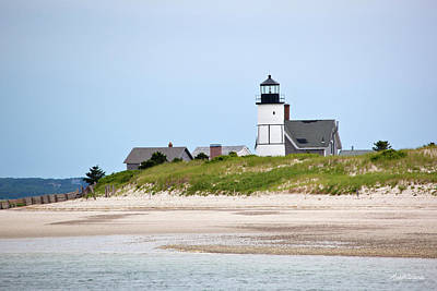 Sandy Neck Lighthouse Barnstable Cape Cod Massachusetts Poster by Michelle Wiarda
