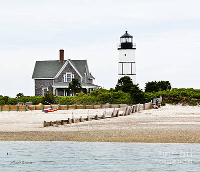 Sandy Neck Lighthouse Cape Cod Poster by Michelle Wiarda