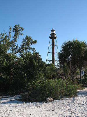 Sanibel Island Lighthouse Poster by Christiane Schulze Art And Photography