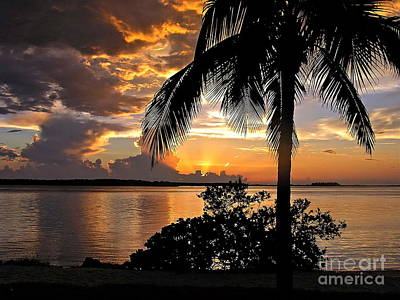 Sanibel Sunset Poster
