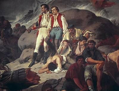 Sans Cabot, Francisco 1834-1881. Battle Poster by Everett