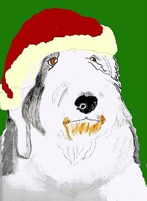 Santa Bailey Poster