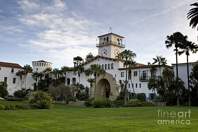 Poster featuring the photograph Santa Barbara by David Millenheft