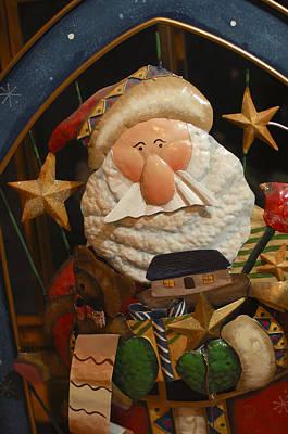 Santa Claus - Antique Ornament - 27 Poster by Jill Reger