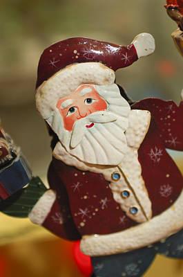 Santa Claus - Antique Ornament - 34 Poster by Jill Reger