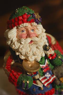 Santa Claus - Antique Ornament - 36 Poster by Jill Reger
