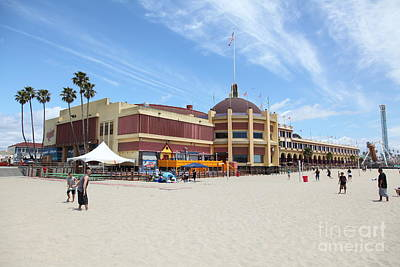 Santa Cruz Beach Boardwalk California 5d23751 Poster
