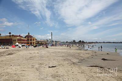Santa Cruz Beach Boardwalk California 5d23758 Poster