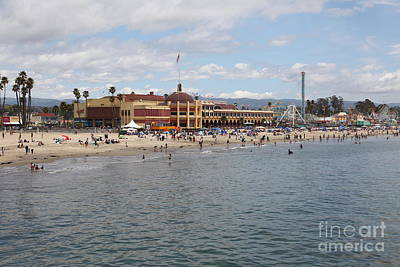 Santa Cruz Beach Boardwalk California 5d23780 Poster