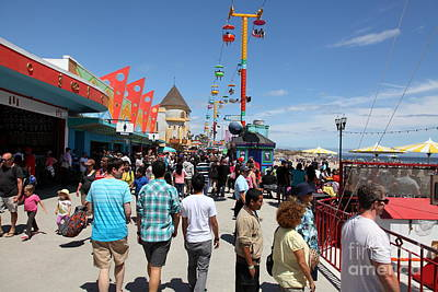 Santa Cruz Beach Boardwalk California 5d23865 Poster