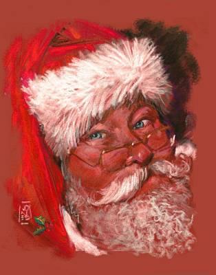 Santa  Poster by Debra Jones